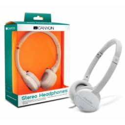 Auriculares Canyon CNR-HP04NW White