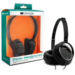 Auriculares Canyon CNR-HP05NB Black
