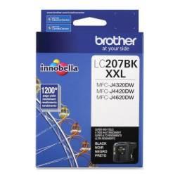 Cartucho de tinta Brother LC-207BK