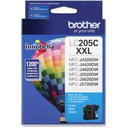 Cartucho de tinta Brother LC-205C