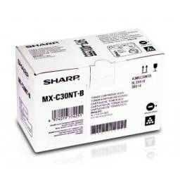 Toner Original Negro SHARP MX-C30NT-BK