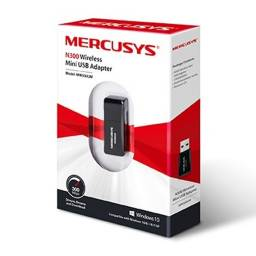 Mini Adaptador USB Wireless 300 Mbps MERCUSYS MW300UM