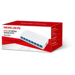 Switch MERCUSYS MS108 8 Puertos 10/100 Carcasa Plástica