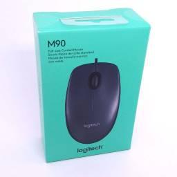Mouse Logitech M90 Negro USB Cableado