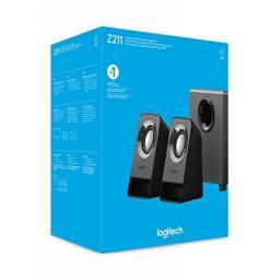 Parlantes Logitech Z211 2.1Ch Negro
