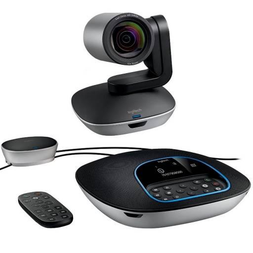 Logitech web cam Group para video conferencias