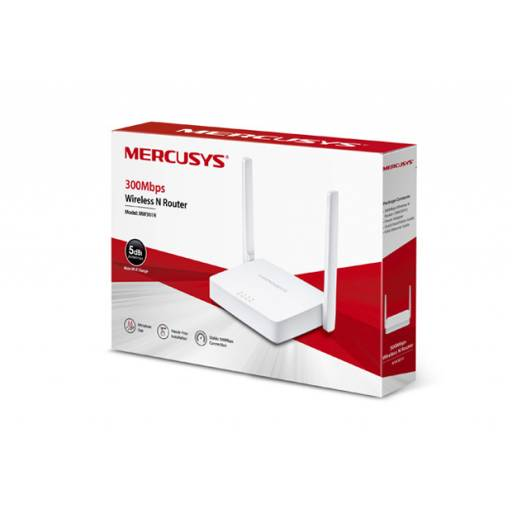 Router Wireless MERCUSYS MW301R 300 Mbps