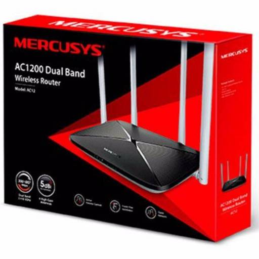 Router Wireless MERCUSYS AC12 Dual Band AC1200 (300/867 Mbps)