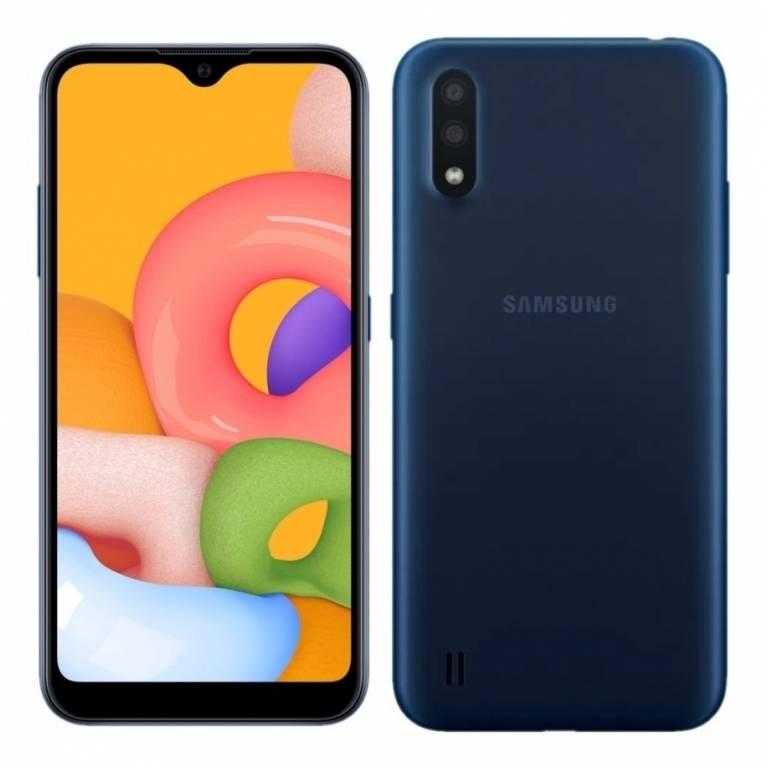 Samsung A01 SM-015 DS Blue 32-2GB