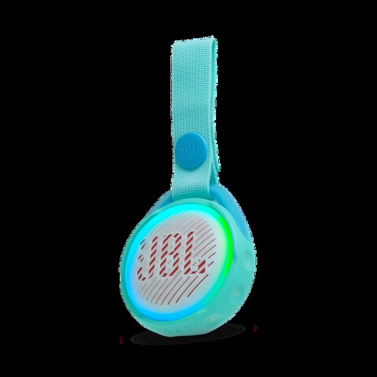 Parlante JBL JR POP Bluetooth con luces sumergible Teal / Verde Agua